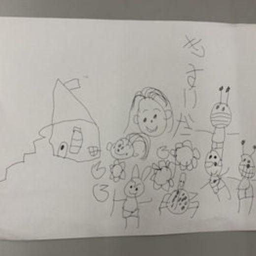 子供が描いた絵